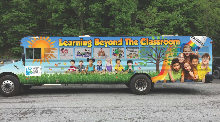 """Learning Beyond the Classroom"" mobile classroom"